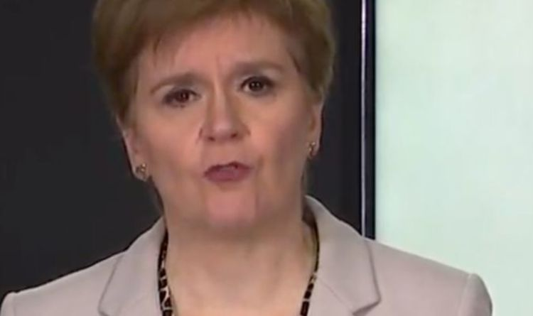 'Virus IS out of control' Nicola Sturgeon shamed as Scotland Covid cases continue to rise