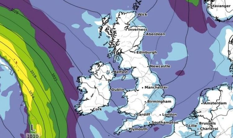 UK weather forecast: Frost to blanket Britain as Storm Alex brings wettest day on RECORD