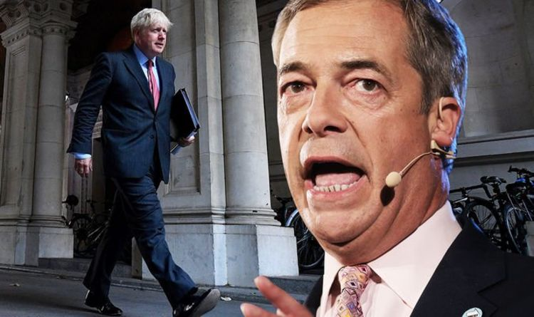 Brexit Party threat: Farage warns Boris Johnson he will resurrect party if UK caves to EU