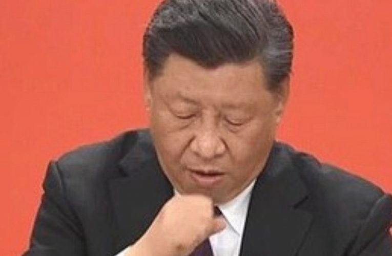 Chinese President Xi Jinping coughs in speech as state media camera cuts away