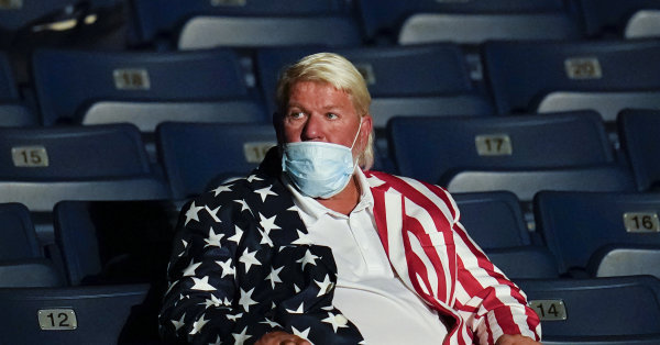 John Daly supports President Trump at debate: 'He's like me and Jesus we love everyone'