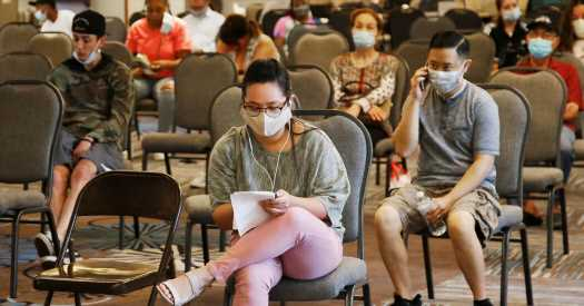 Nearly 900,000 people in the U.S. filed new state unemployment claims last week.