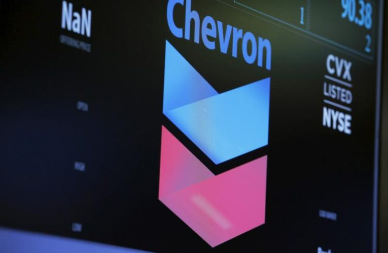 Chevron tops Exxon Mobil market cap for first time