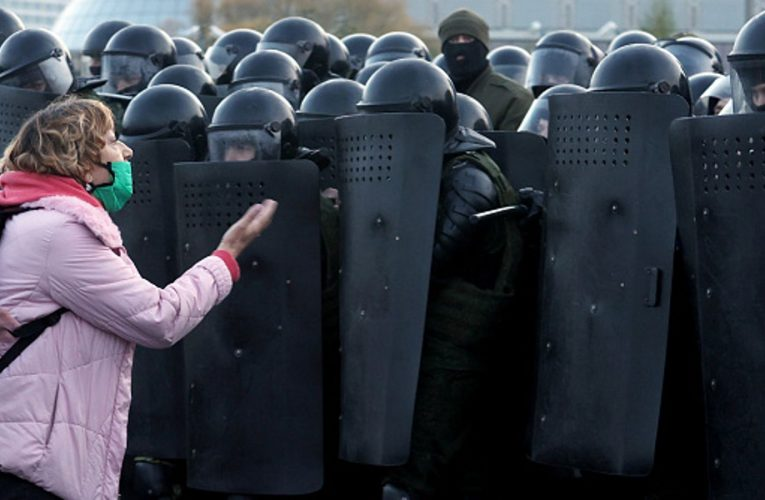 Beatings and intimidation but Belarus demonstrators are still full of street spirit