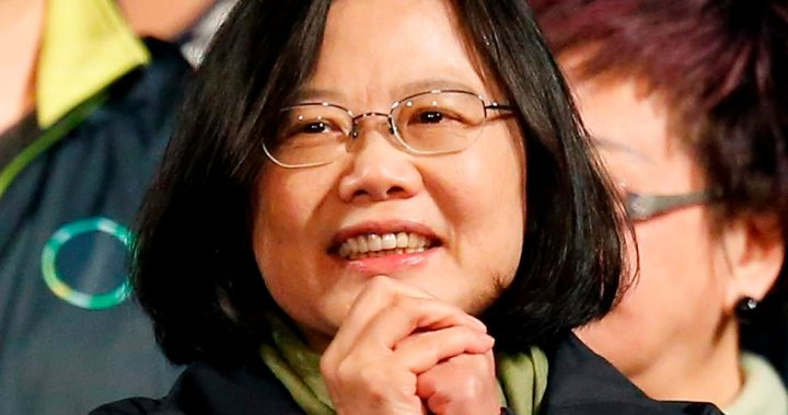 Taiwan president hopes to reduce tensions with China