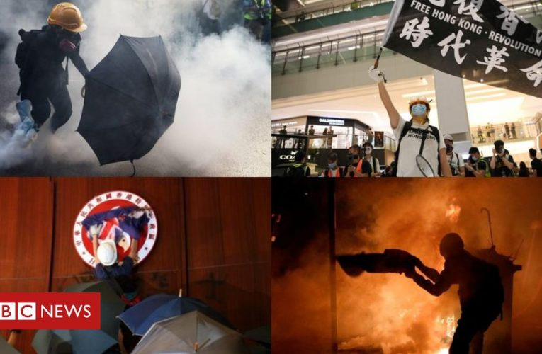 Five flashpoints in Hong Kong's year of anger