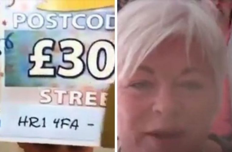 Husband gatecrashes wife's Lottery win call after hearing how she has won