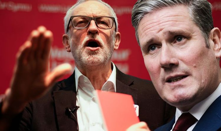 Jeremy Corbyn stain on Labour makes it 'IMPOSSIBLE' for Starmer to 'scrub clean'