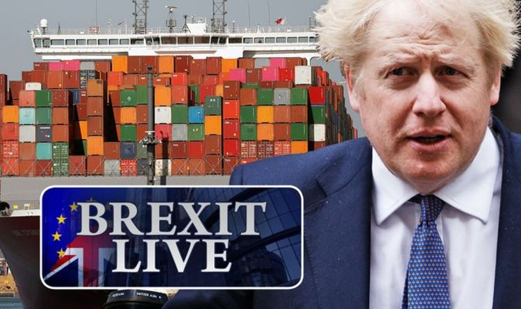 Brexit LIVE: Boris Johnson told to walk away now after EU adopts 'extremist position'