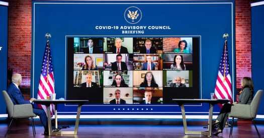 Pandemic Reaches Grim Milestone as Biden Moves to Take Charge