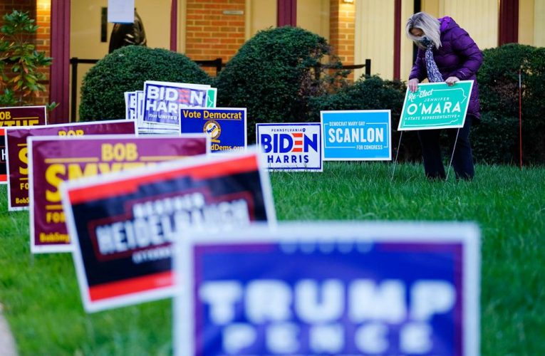 US election day: Donald Trump, Joe Biden cede stage to voters for Election Day verdict