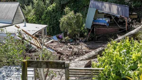 Napier flooding: Woman buried in mud slide rescued by partner in Napier deluge