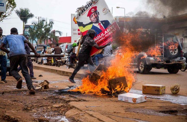 37 die in violent start to Uganda's election season