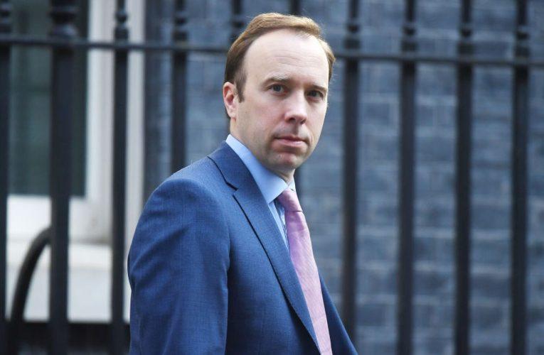 Health Secretary Matt Hancock defends department's £50k spend on takeaways