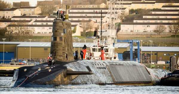 Randy sailors spark submarine Covid outbreak after going onshore to see partners