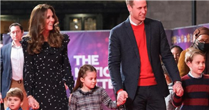 Princes George, Louis, and Princess Charlotte in first appearance since lockdown