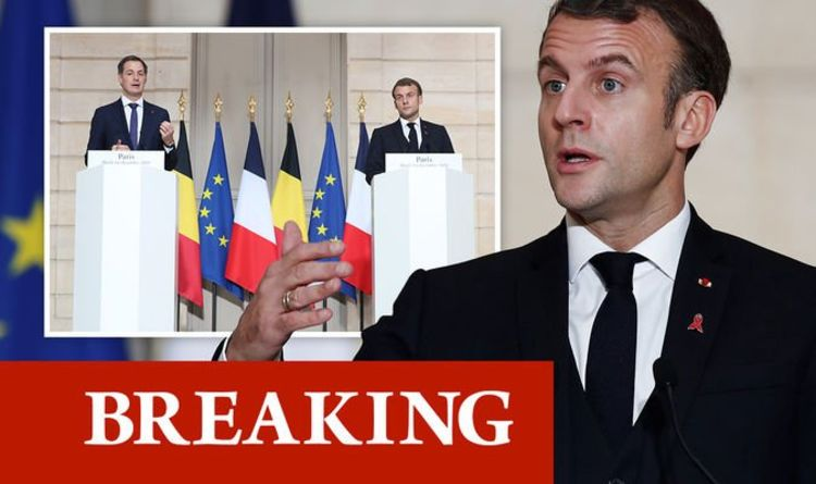 Macron threatens to vote down Brexit deal as French president refuses to budge on fishing