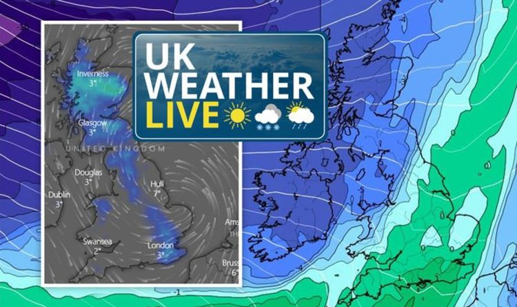 UK weather live: Met Office issue snow warnings as heavy snow forecast to blanket Britain