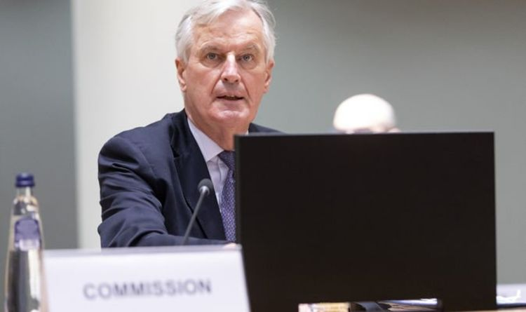 Michel Barnier warns of 'protesting fishermen' on January 1 as Brexit risks EU chaos