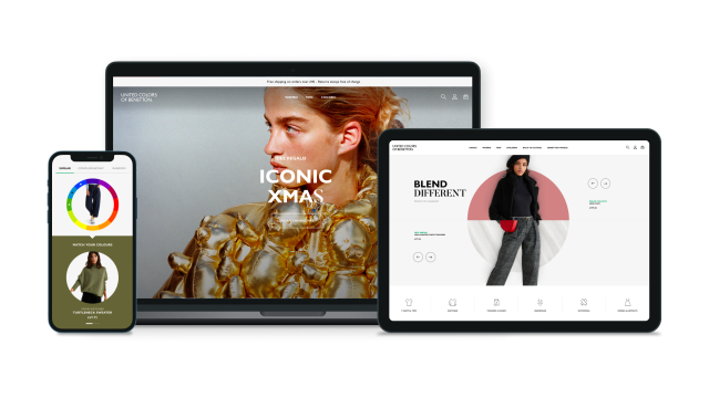Benetton Launches New Online Store, Appoints Sales Director