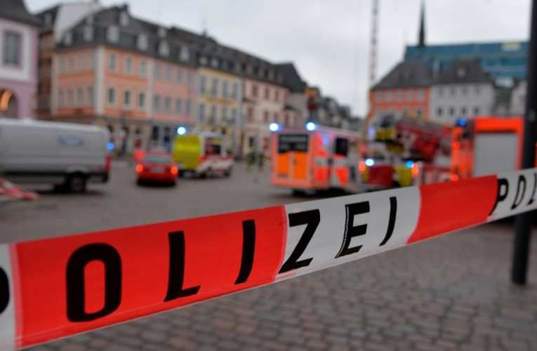 Four killed by car in pedestrian zone in German city of Trier, driver arrested