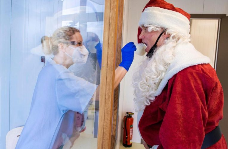 A season of fear, not cheer, as virus changes Christmas