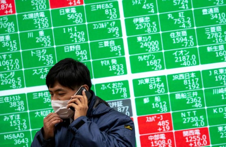 Asia stocks firm as U.S. economic support pushes Nasdaq to record