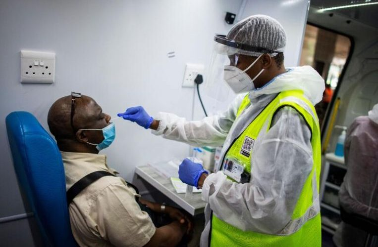 South Africa reports record daily Covid-19 cases of nearly 18,000