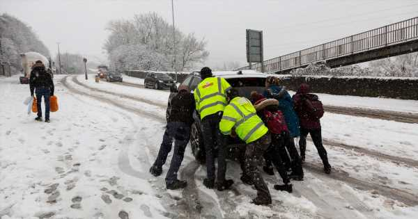 Snow and ice warnings for almost all Brits as new Beast from the East looms