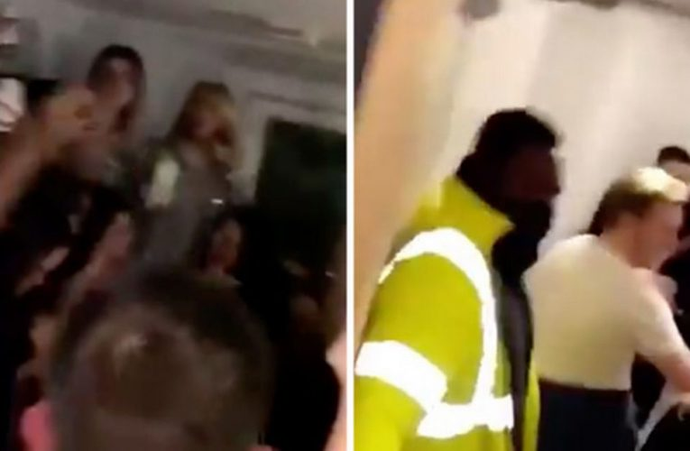 Outrage as students crowd flat for party in video hours after lockdown announced