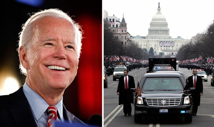 Joe Biden's state car security features unveiled as he becomes US President