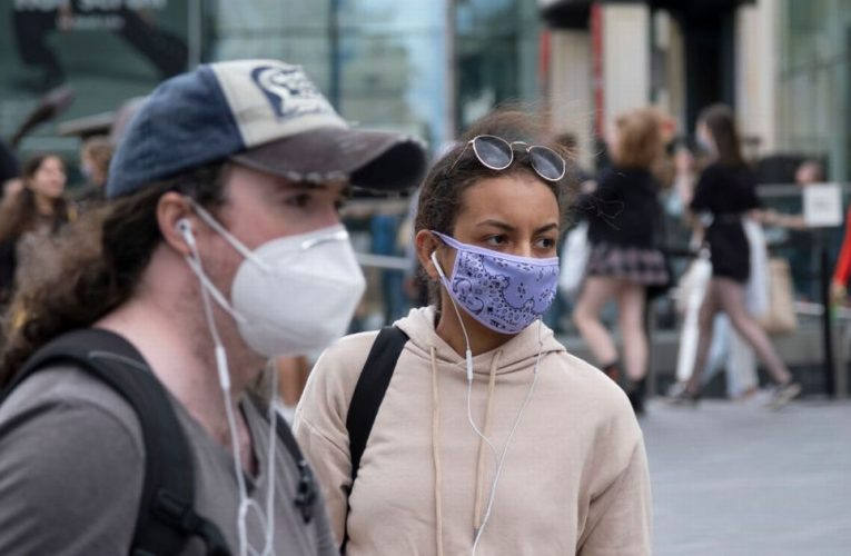 Face masks could be made compulsory outdoors as part of stricter Covid measures