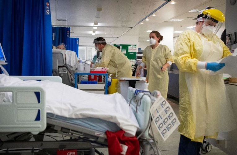 Major incident declared in London with hospitals at 'critical' Covid level