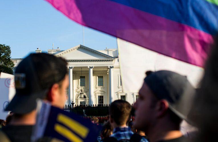 Biden overturns Trump's transgender military ban.