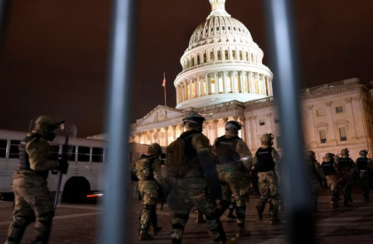 The entire D.C. National Guard has been mobilized.