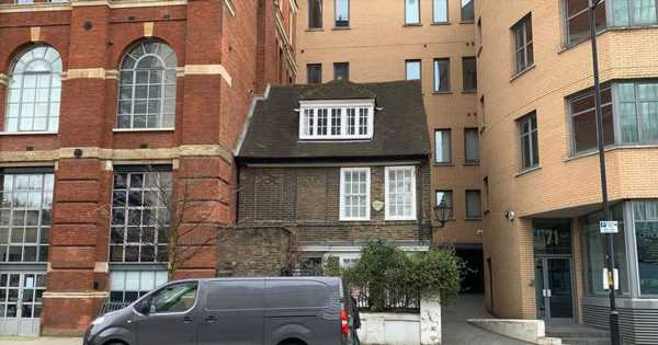 This quaint 18th-century London home looks like the house from Disney Pixar's Up