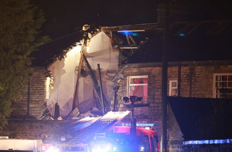 Police rush to reports of explosion as 'homes shake with force of blast'