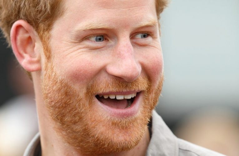 Royal fans slam Prince Harry for 'dirty' bare feet in baby announcement photo