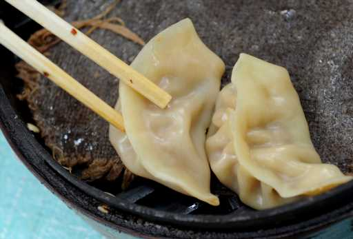 Simple pork and corn dumplings recipe