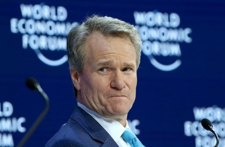 Bank of America CEO Moynihan's pay falls more than 7% in 2020