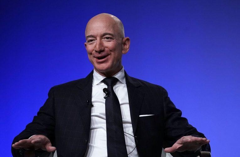 Amazon boss Jeff Bezos to move sideways as Christmas quarter sales exceed $100bn
