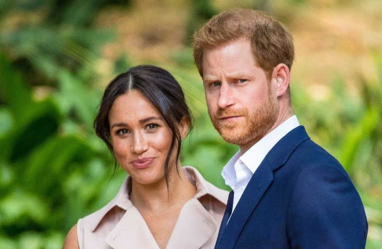 Meghan and Harry's 'Megxit' from Royal life is being made into a movie