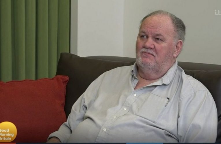 Thomas Markle hung up on Harry during 'snotty' phone call as he lay in hospital
