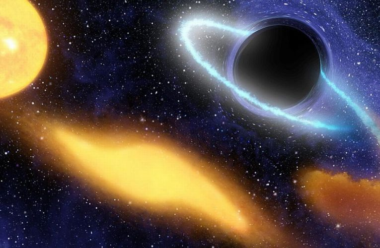 Rare supermassive black hole travelling at 110,000mph discovered by scientists