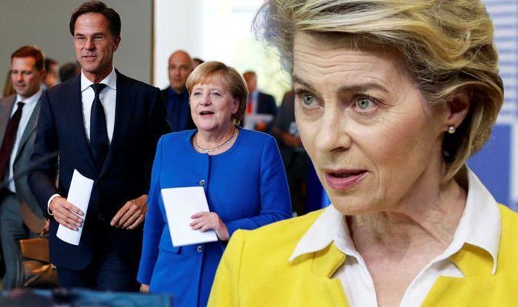 VDL faces EU revolt: Growing list of EU nations want her jabs war scrapped – Merkel leads