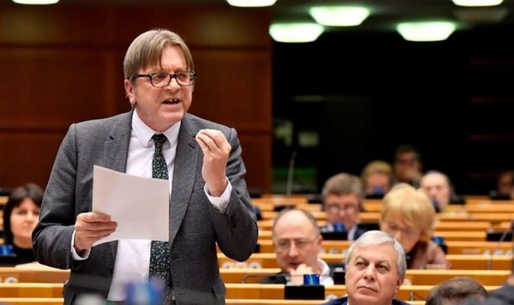 Fury as Guy Verhofstadt takes swipe at UK 'to distract' from EU's vaccine rollout failure