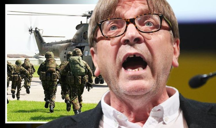 Guy Verhofstadt admitted EU could succumb to Russia if Putin's army attacked Europe