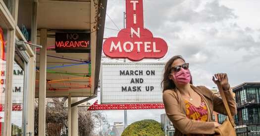 A district judge in Texas rules that Austin can keep its mask mandate for now.