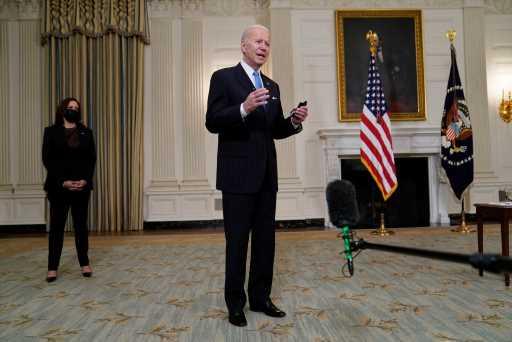 Joe Biden urges Senate Dems to rally behind $1.9T virus bill – The Denver Post