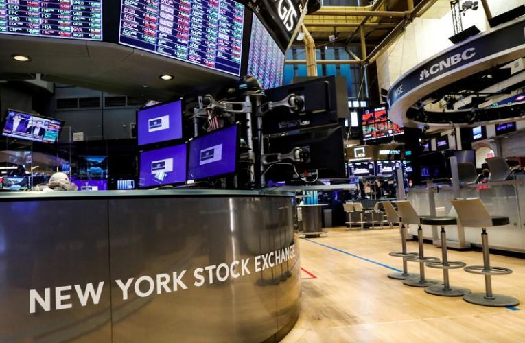 S&P 500, Dow slip at open as banks fall